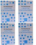 The Daily Telegraph Crucial Cryptic Crosswords Collection 4 Book Set Puzzle New