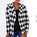 Fablife Monochrome Detailed Blazer