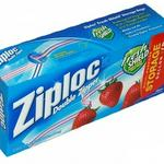Ziploc Double Zipper Gallon Storage Bags - 52 Count