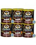 Quaker White Oats - Pack of 6 Tins