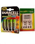 Duracell Rechargeable Battery With Charger