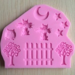 ANIMAL+Farm+Silicon+Mold+-+Pink