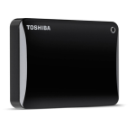 Toshiba Canvio Connect Ii Hdd 2tb - Black