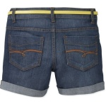 Faded Glory Women's Classic Denim Belted 4.5