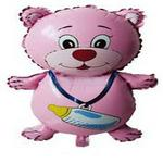 Pink Teddy Bear Foil Balloon (36 Inches Long)