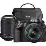 Nikon+%E2%80%93+D3200+Dslr+Camera+With+18-55mm+And+55-200mm+Lenses+%E2%80%93+Black