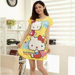 Hello Kittie Shortsleeve Nightwear