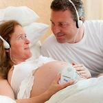 AngelSounds Baby Fetal Heart Monitor - Doppler With Free Headphones Battery & Recording Cable