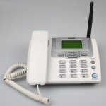 Gsm Land Phone With Fm Radio For Home Office & Mobile