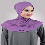 Ninja Hijab - Purple