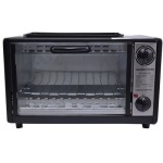 Crown Star Electric Toaster Oven With Top Grill - 11l