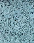 Naomi-O Guipure Lace - Teal Green