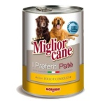 Miglior Cane Chicken & Rabbit Dog Food Pate - 400g 24 Cans