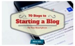 70 Steps To Starting A Blog Pdf