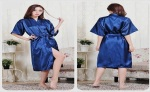 Topsy Ventures Classic Satin Robe Free Size